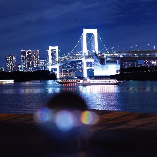 レインボーブリッジ夜景🆒東京タワーコラボ