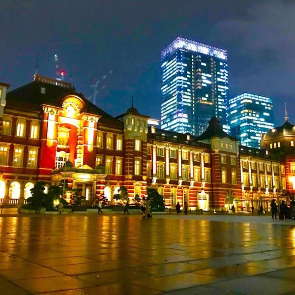 帰宅どきの東京駅