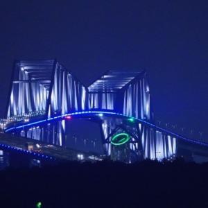 ゲートブリッジ夜景2020✨葛西臨海公園