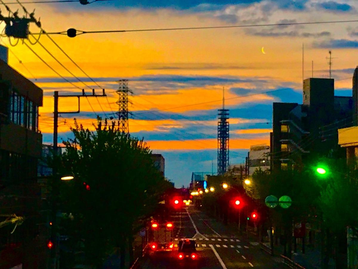 未明の新青梅街道