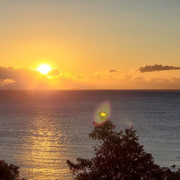 真鶴岬から見た初日の出