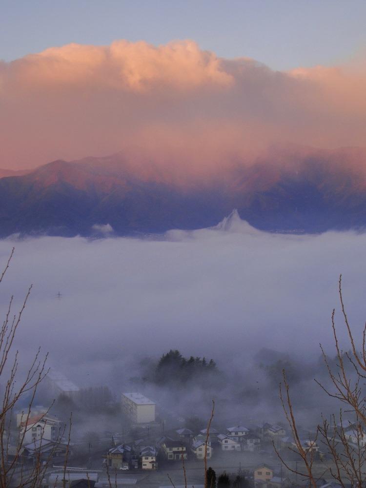 雲海?濃霧?