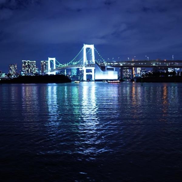 レインボーブリッジ夜景🆒な安らぎ空間✨