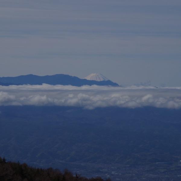 「高峰高原から望む富士山」