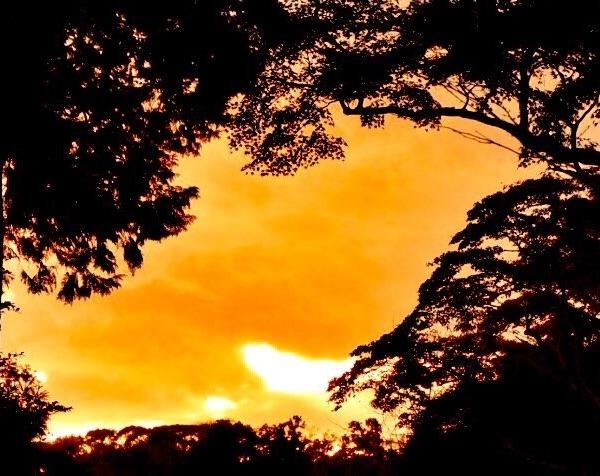 鎌倉の夕暮れ