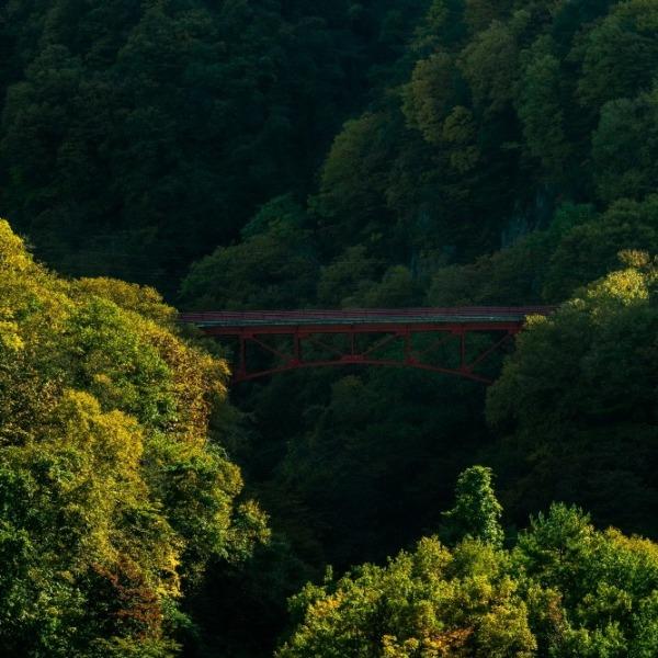 日本で1番美しい村 高山村の絶景 松川渓谷