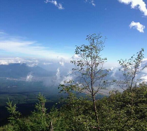富士山から