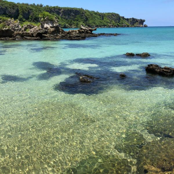 沖縄県恩納村恩納(オンナソン・オンナ)の海