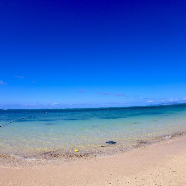 10月でも沖縄の海は素敵です