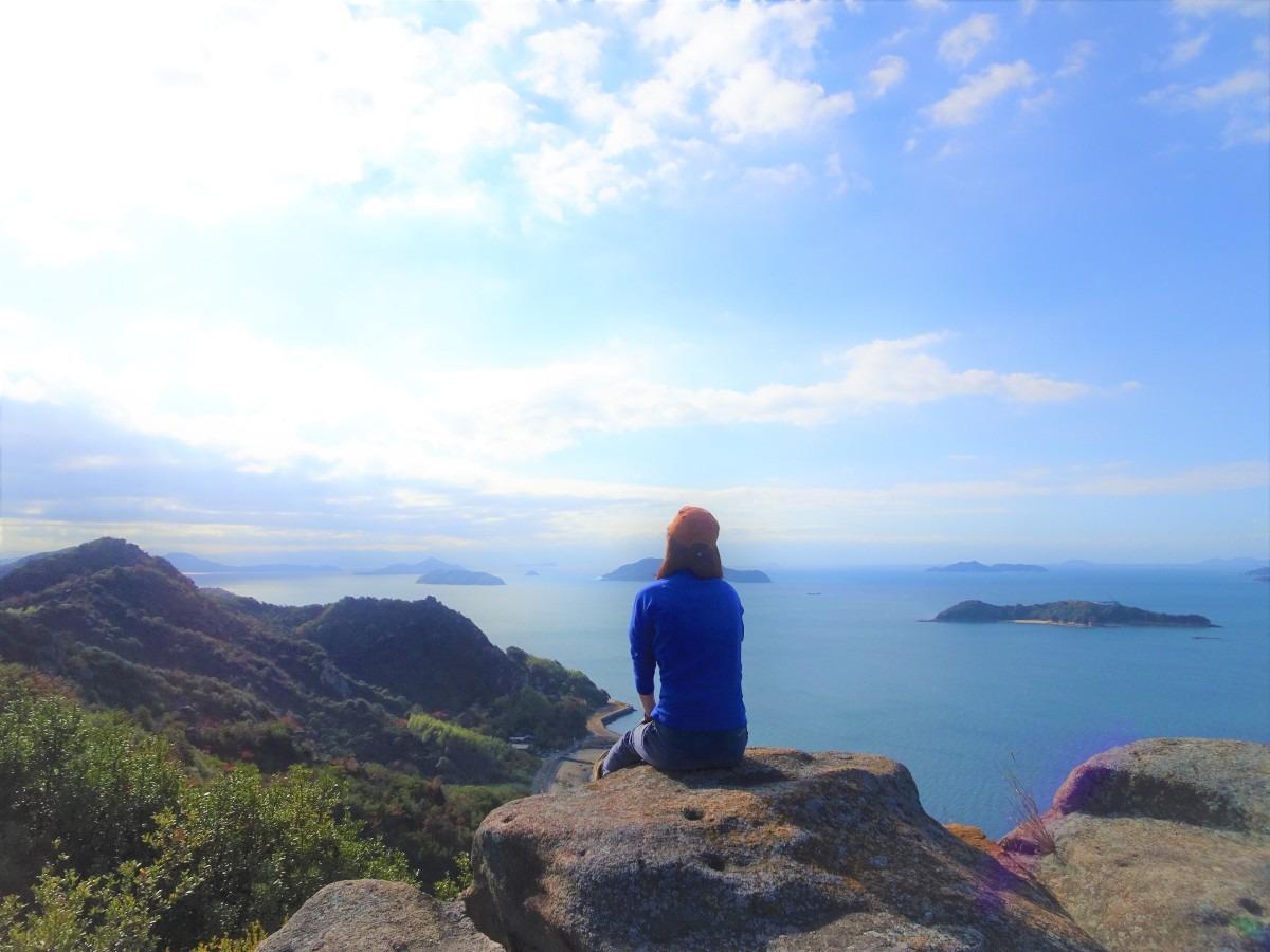 離島でハイキング in 瀬戸内海