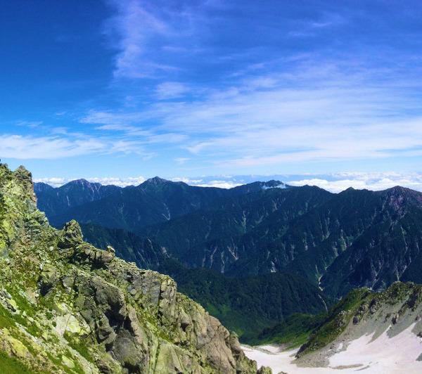 絶景の立山