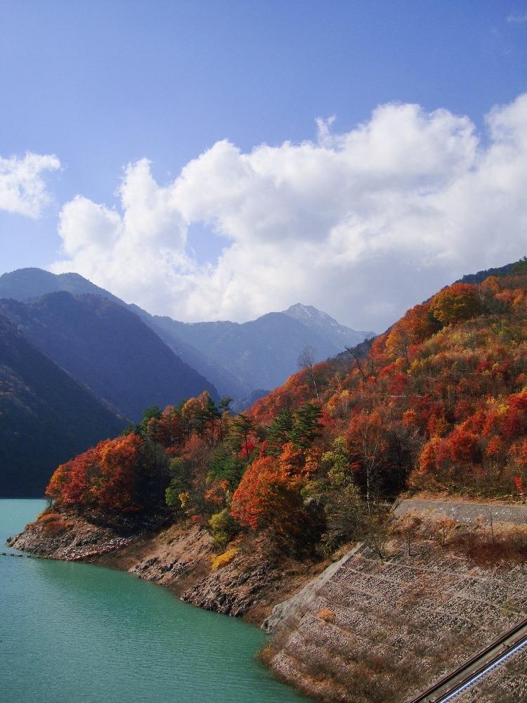 高瀬渓谷 龍神湖