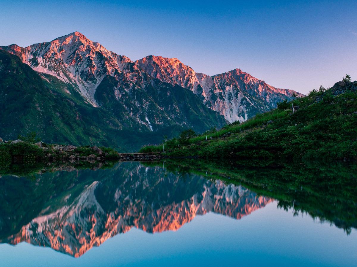 深夜登山のご褒美