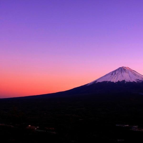富士 夕焼け