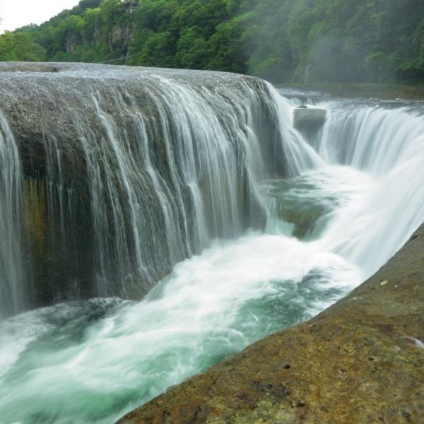 吹割の滝 日本百名瀑