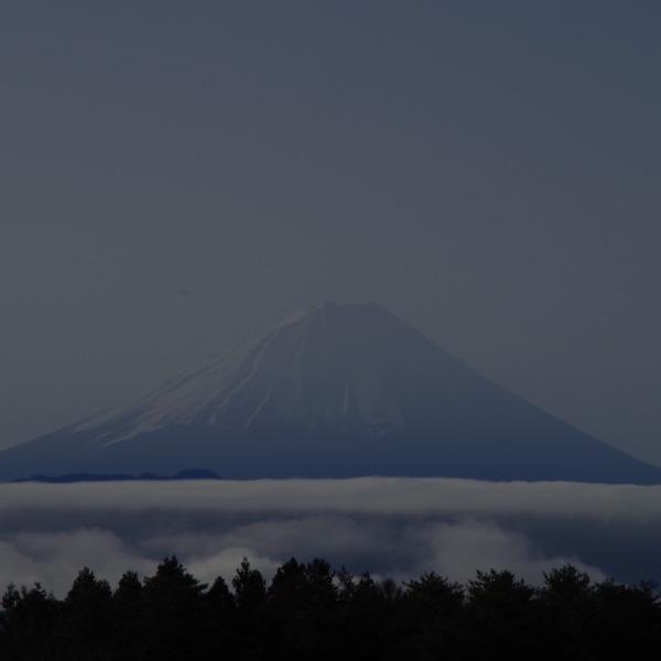 「雲海と富士山」