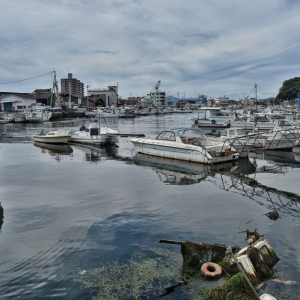 ー漁港の風景ー