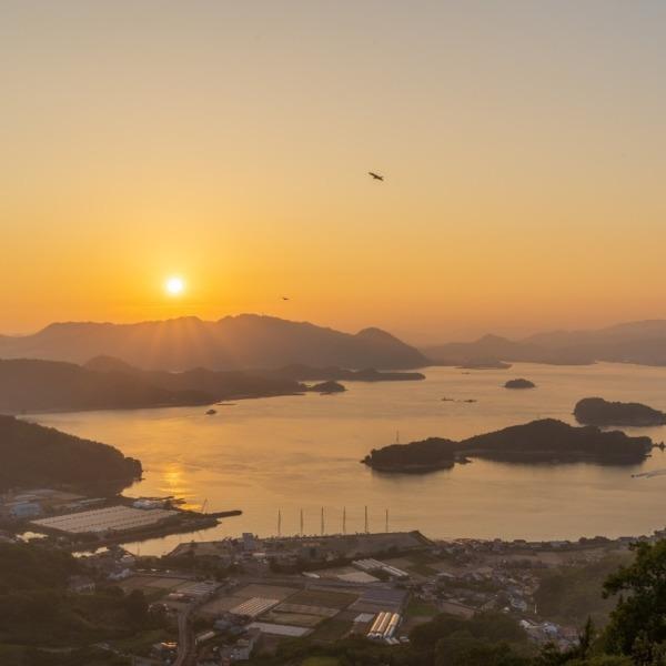 しまなみ海道 因島 白滝山展望台 2