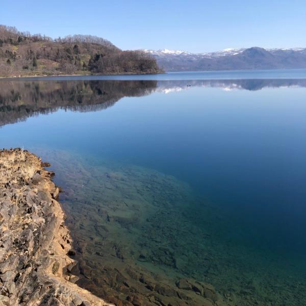 洞爺の湖水鏡