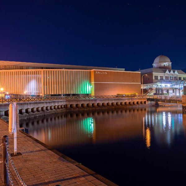 大和ミュージアムの夜景