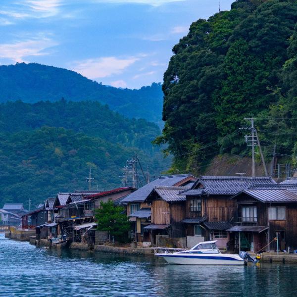 日本の風景 伊根の舟屋