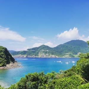 坊ノ津の海
