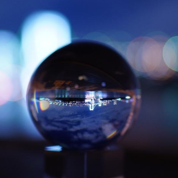 レインボーブリッジ夜景🆒クリスタルな輝き