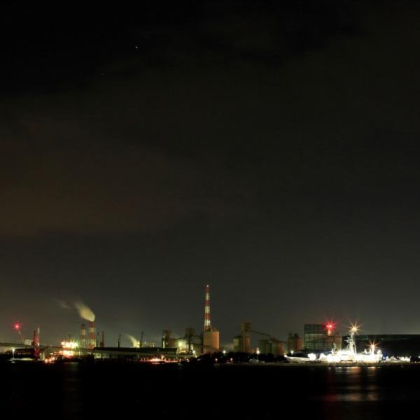 港夜景(小名浜港)