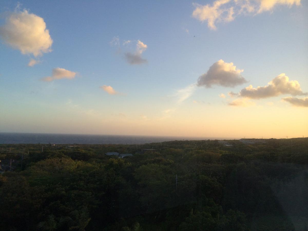 私が初めて島に来た8年前の景色