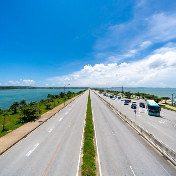 沖縄 海中道路