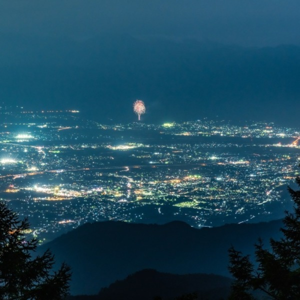 甘利山の夜景そして・・・
