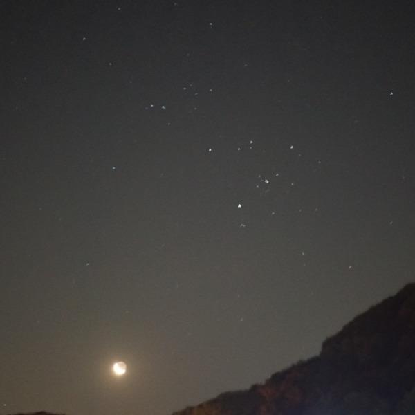 新潟景勝百選1位獲得地の星空💖地球照🆒