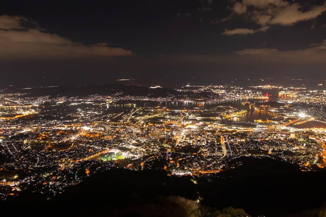 100億ドルの夜景 皿倉山