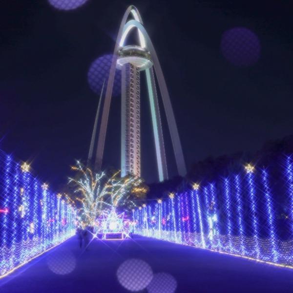一宮138タワーパークイルミネーション