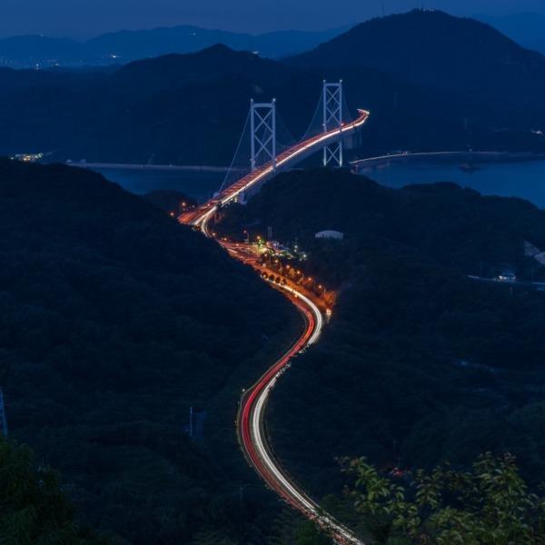 しまなみ海道 因島大橋 白滝山展望台 5