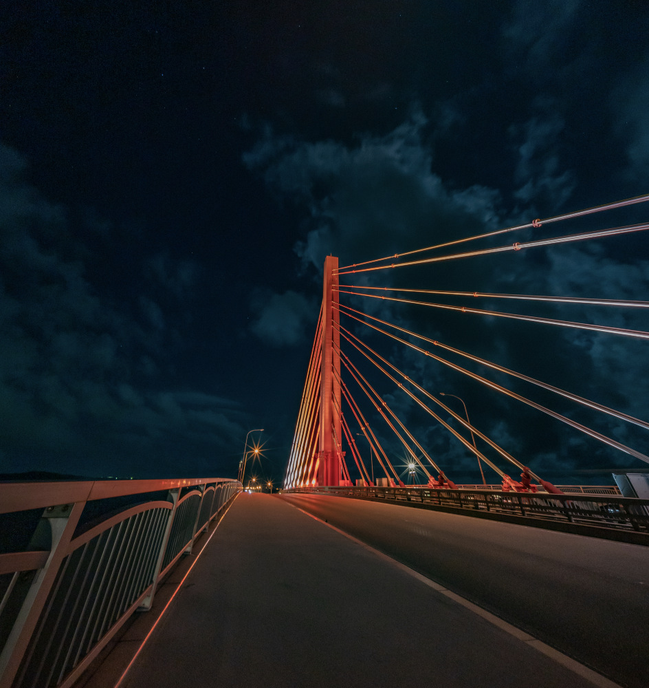 海中道路 平安座海中大橋のライトアップ
