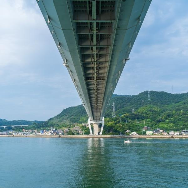 しまなみ海道 生口橋