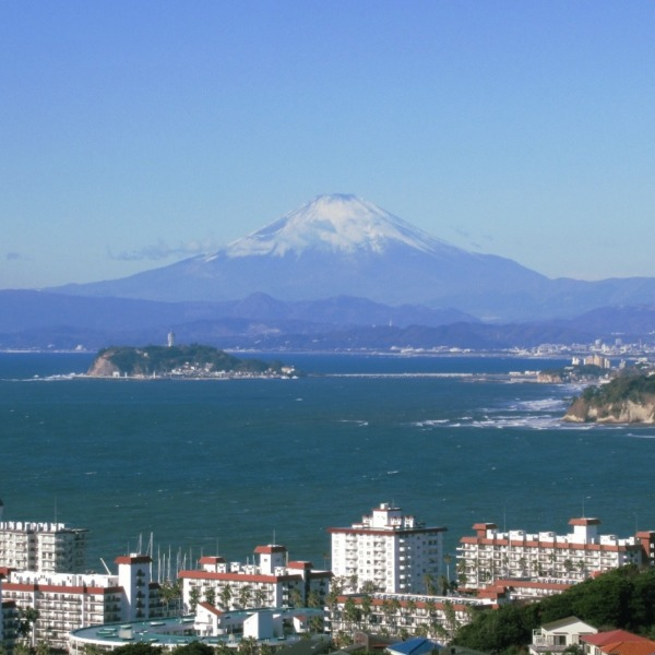 富士山と江の島