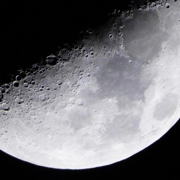 月面X(LOVE)2021💛/上弦の月