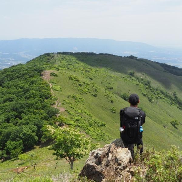 絶景の稜線 竜ヶ岳