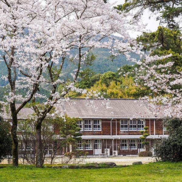 秋月の古校舎