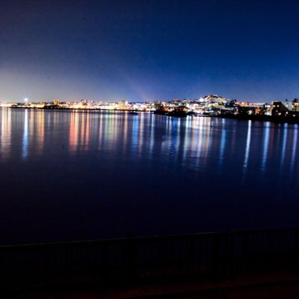 舞子公園から明石の夜景
