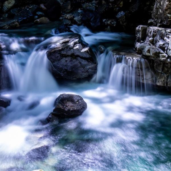 小坂の滝巡り 三ツ滝