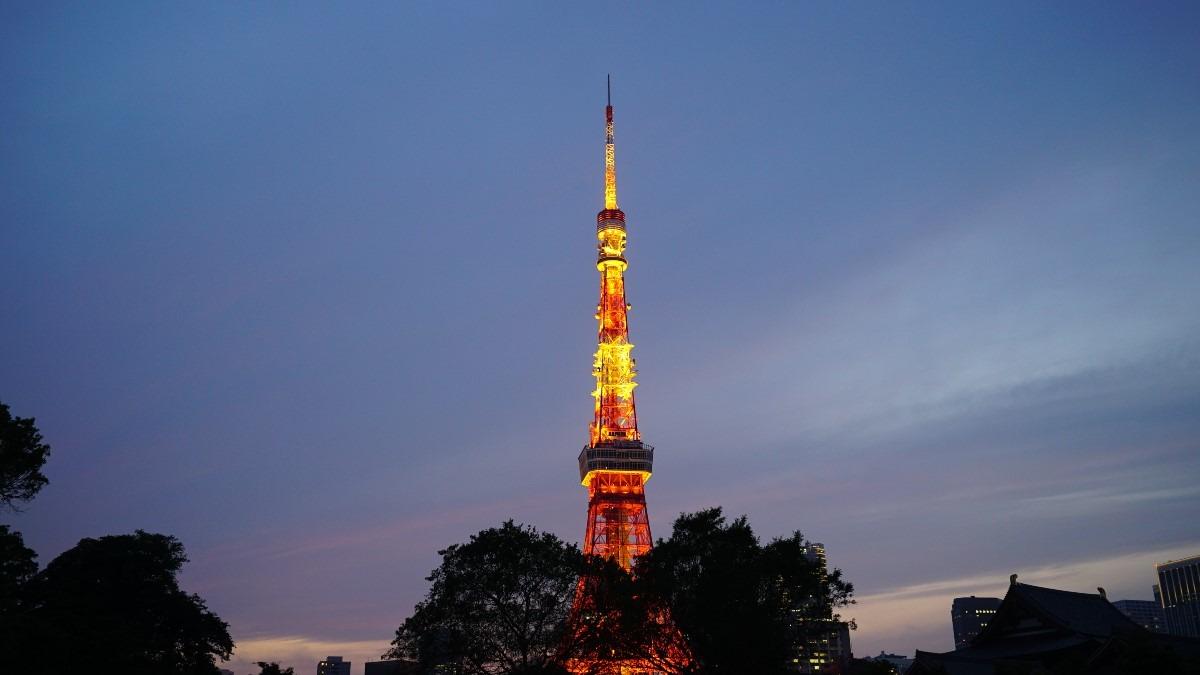 東京タワー夕景2020彩✨