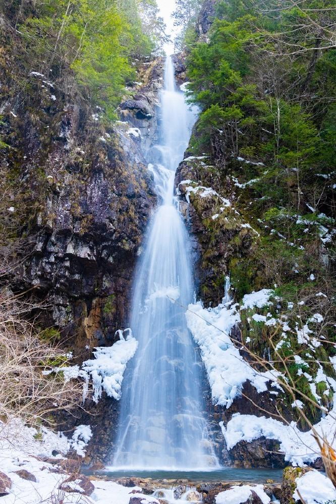 龍頭峡 二段滝