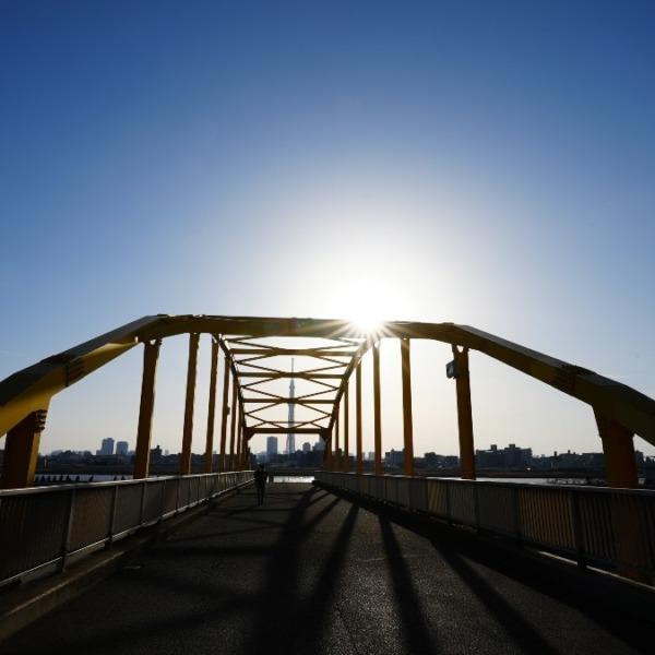 東四つ木_避難橋2021/明るい未来へ✨