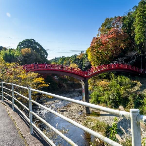 観音橋(養老渓谷)