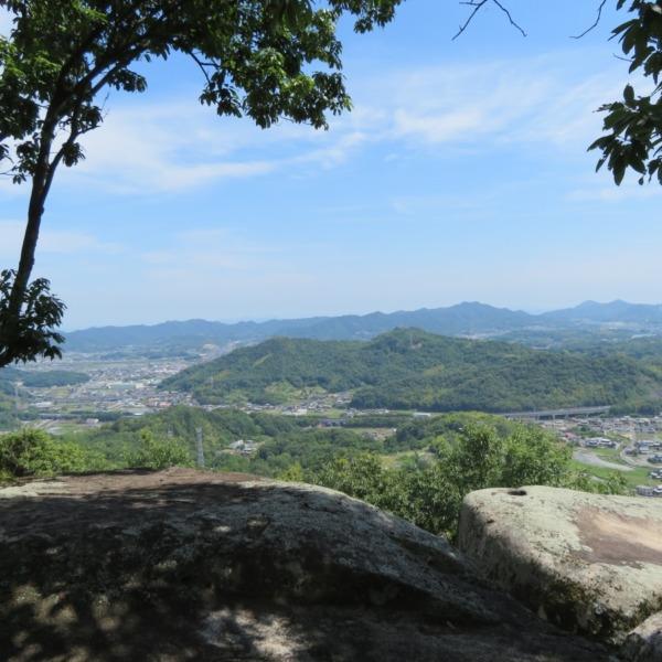 浅口市 杉山(別名・要害山)からの絶景眺望