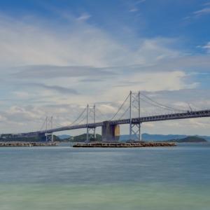 ―雲と青空そして瀬戸大橋―