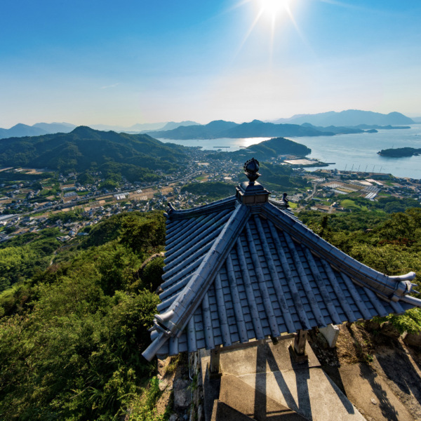 しまなみ海道 因島 白滝山展望台 5